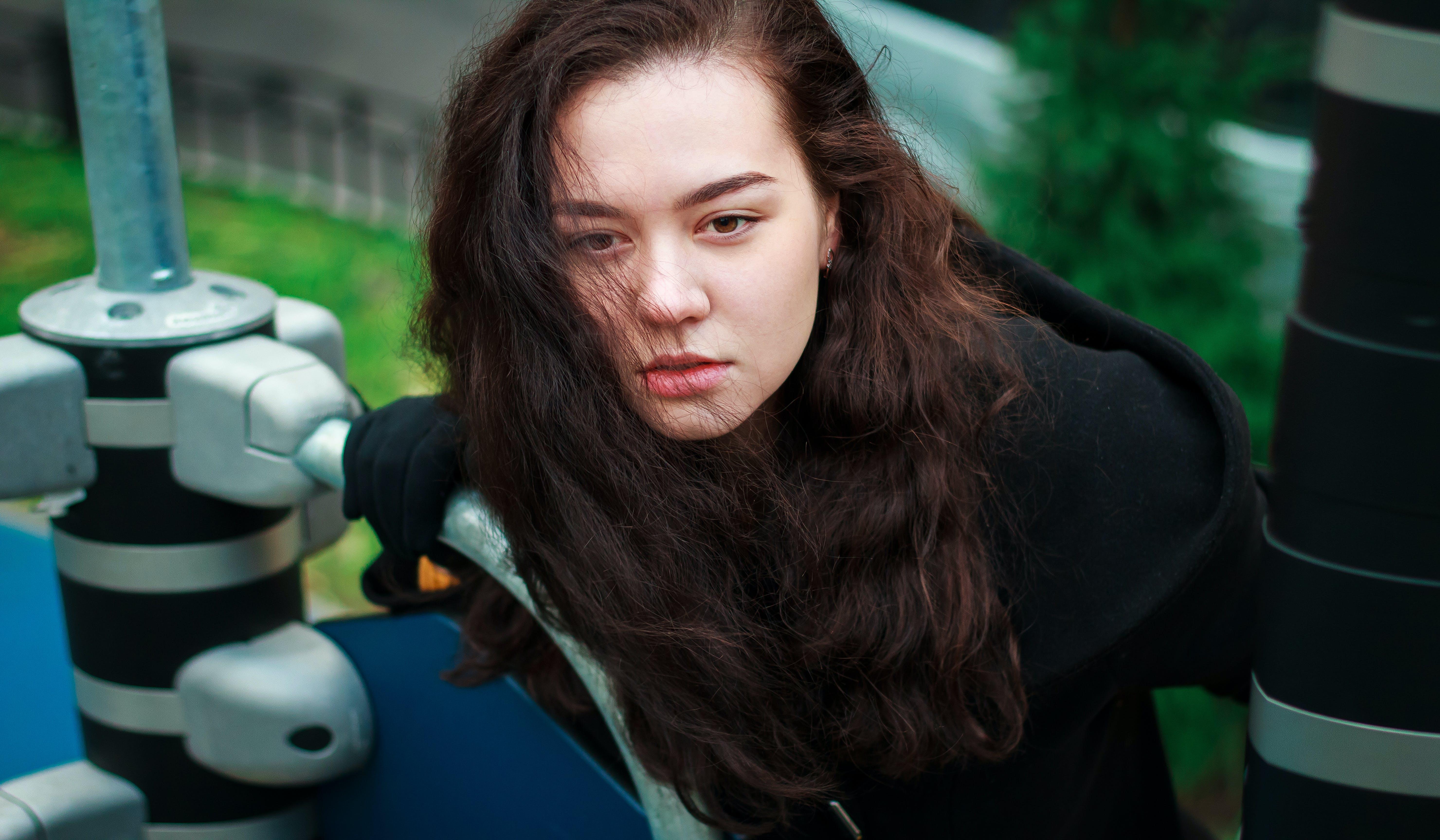 Close-Up Photo Of Woman