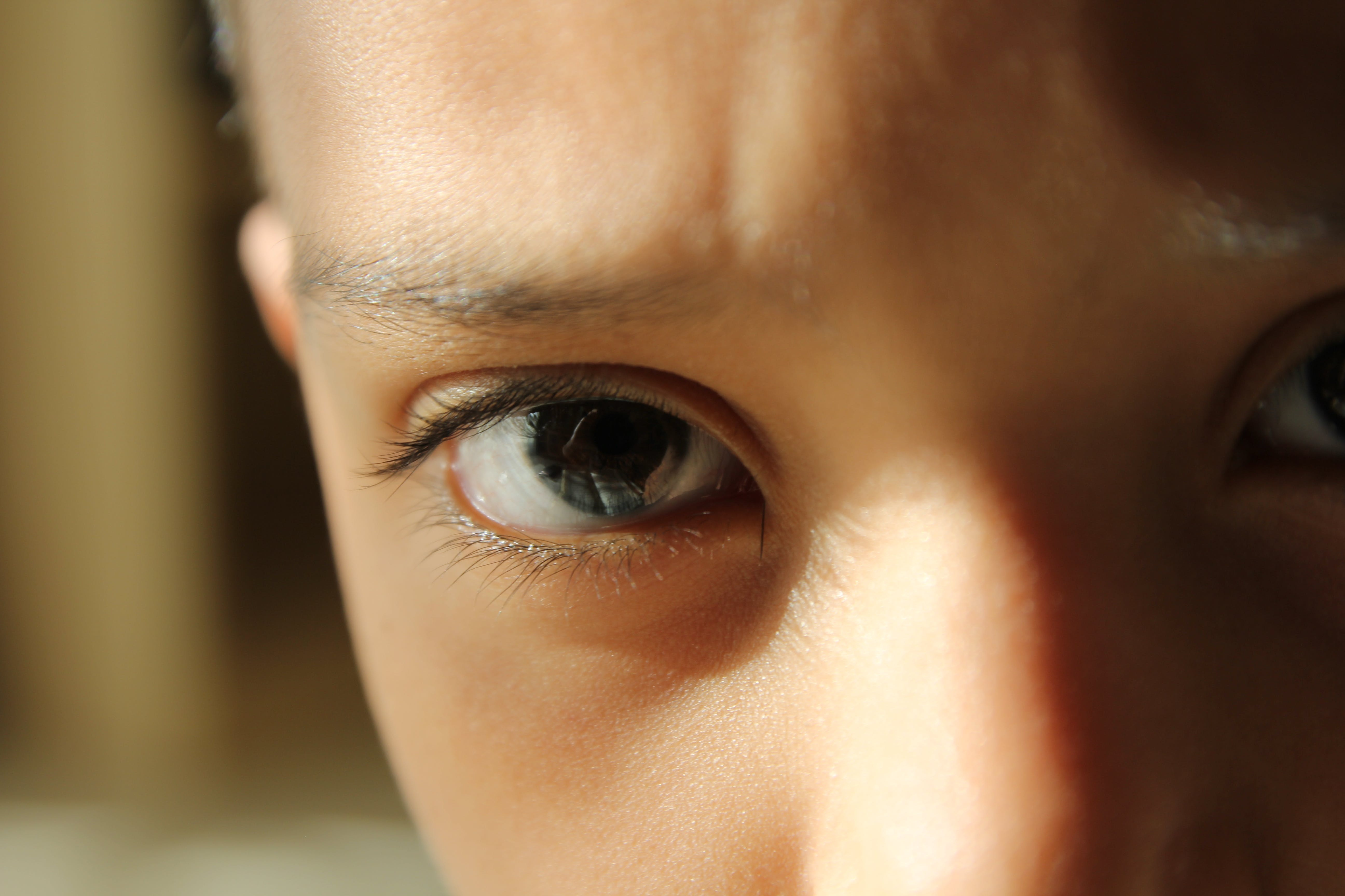 Close-Up Photo of Kid's Eye
