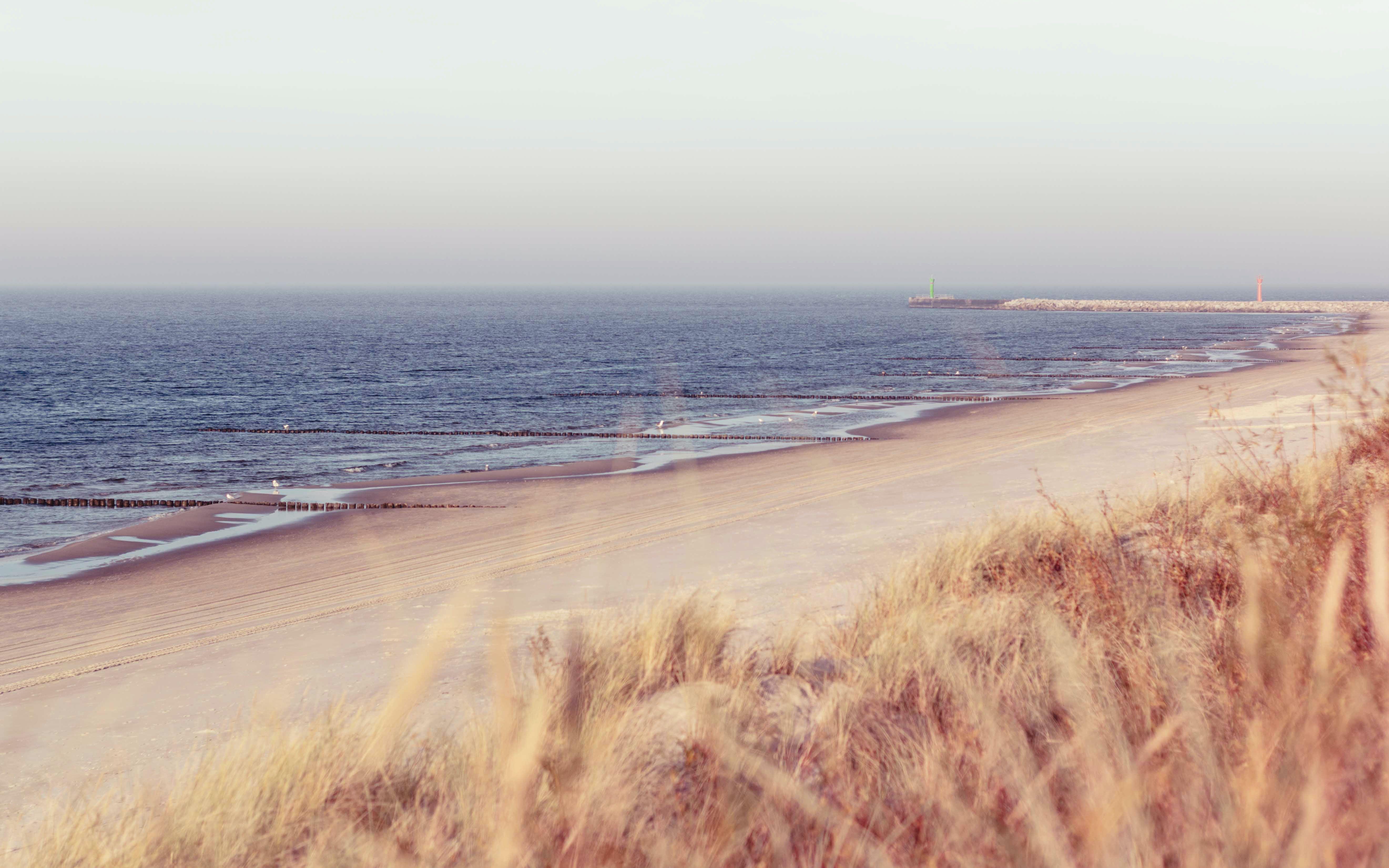 Scenic View Of Seashore