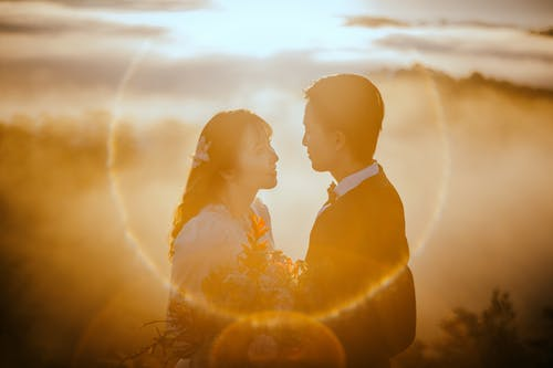 คลังภาพถ่ายฟรี ของ ความรัก, คู่, คู่บ่าวสาว, ชายหาด