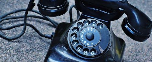 Gratis lagerfoto af antik, årgang, drejeknap, drejetelefon