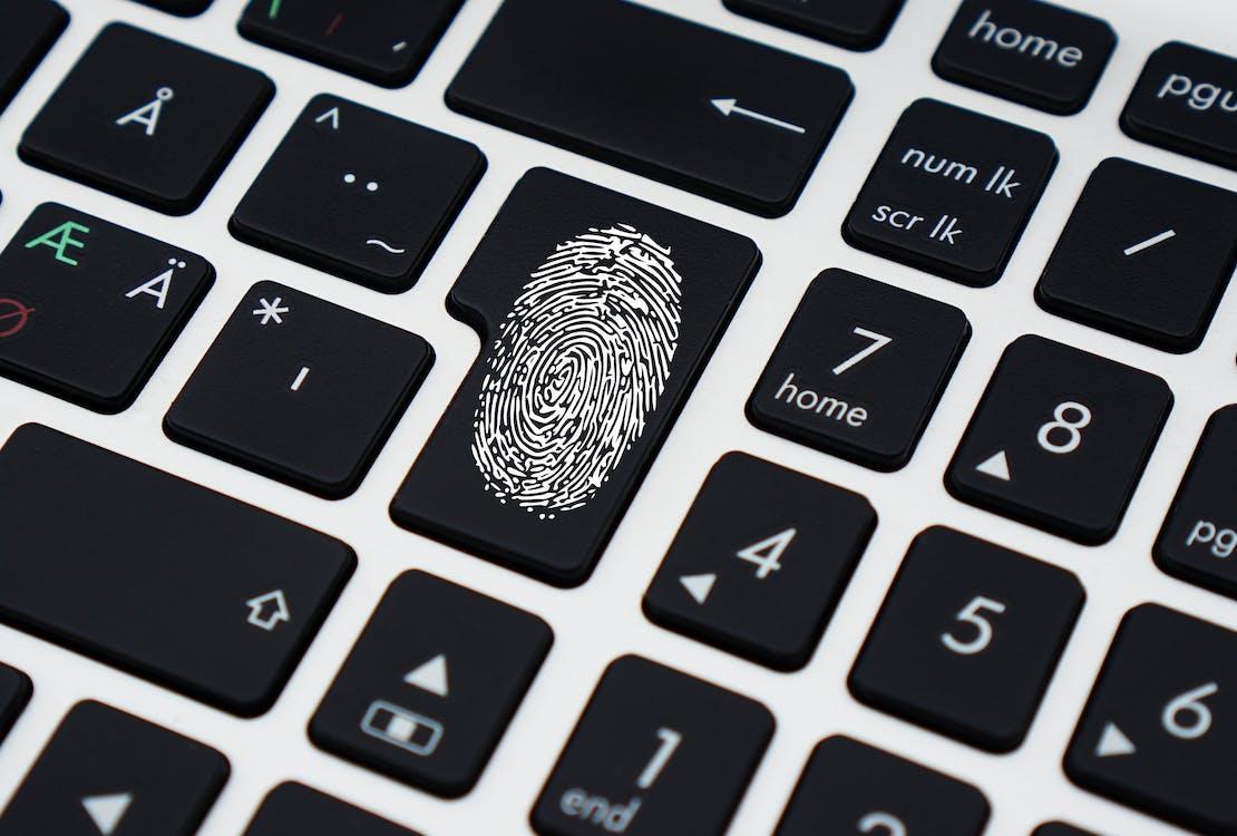 keyboard fingerprint