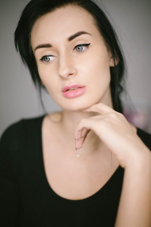 귀여운, 눈, 매력적인