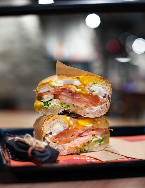 おいしい, エピキュア, サンドイッチ, ディナーの無料の写真素材