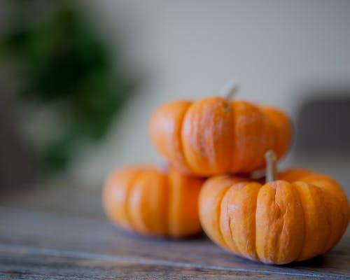 3, かぼちゃ, オレンジ, サンクスギビングの無料の写真素材