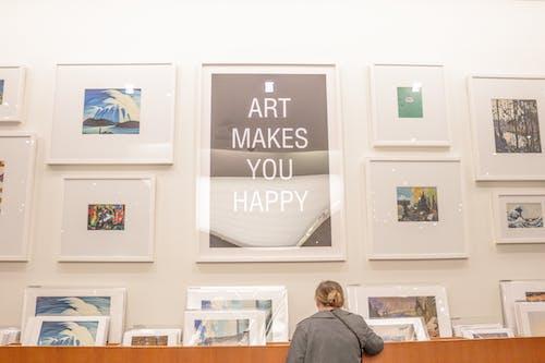 アート, アートはあなたを幸せにします, アートワーク, フレームの無料の写真素材