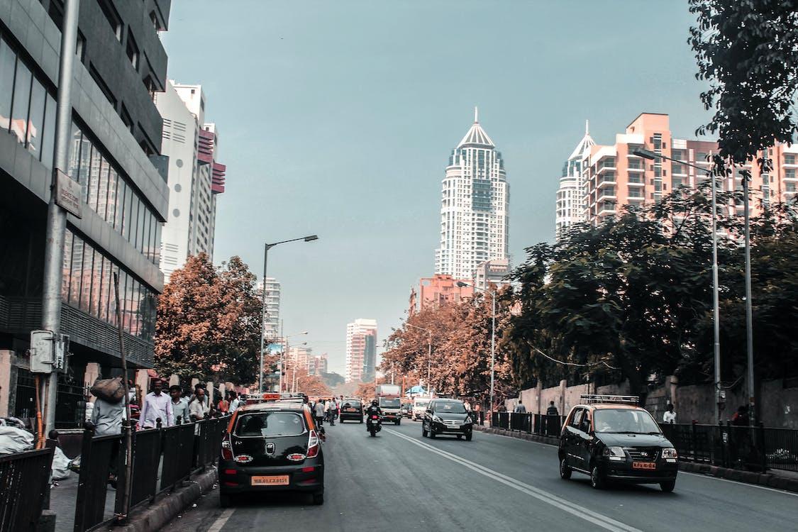 building, car, city