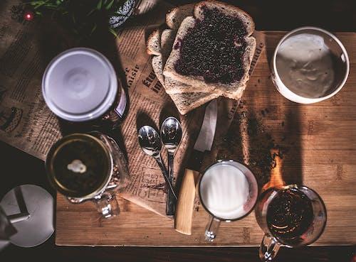 Imagine de stoc gratuită din băutură, culoare, de deasupra, de lemn