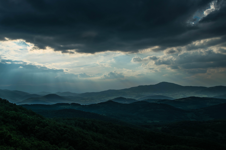 Free stock photo of cloud, mountain