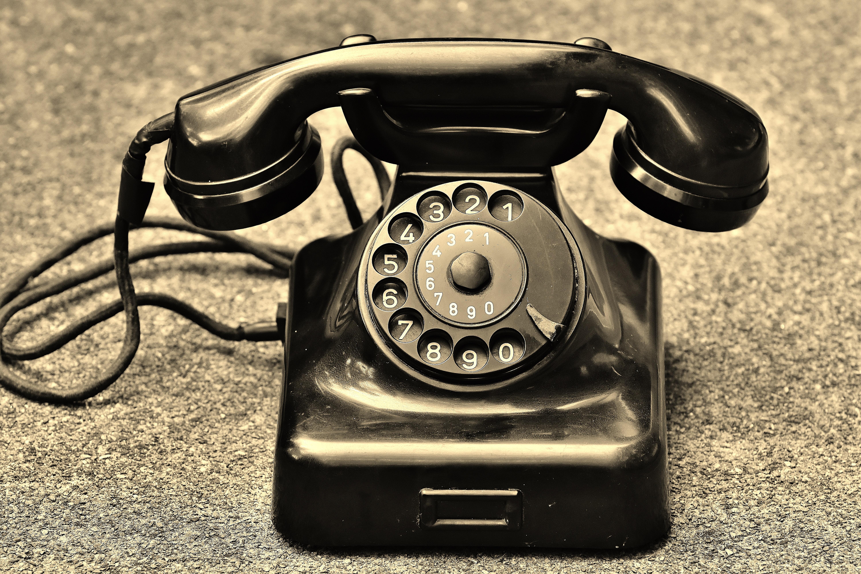 Black Rotary Telephone · Free Stock Photo