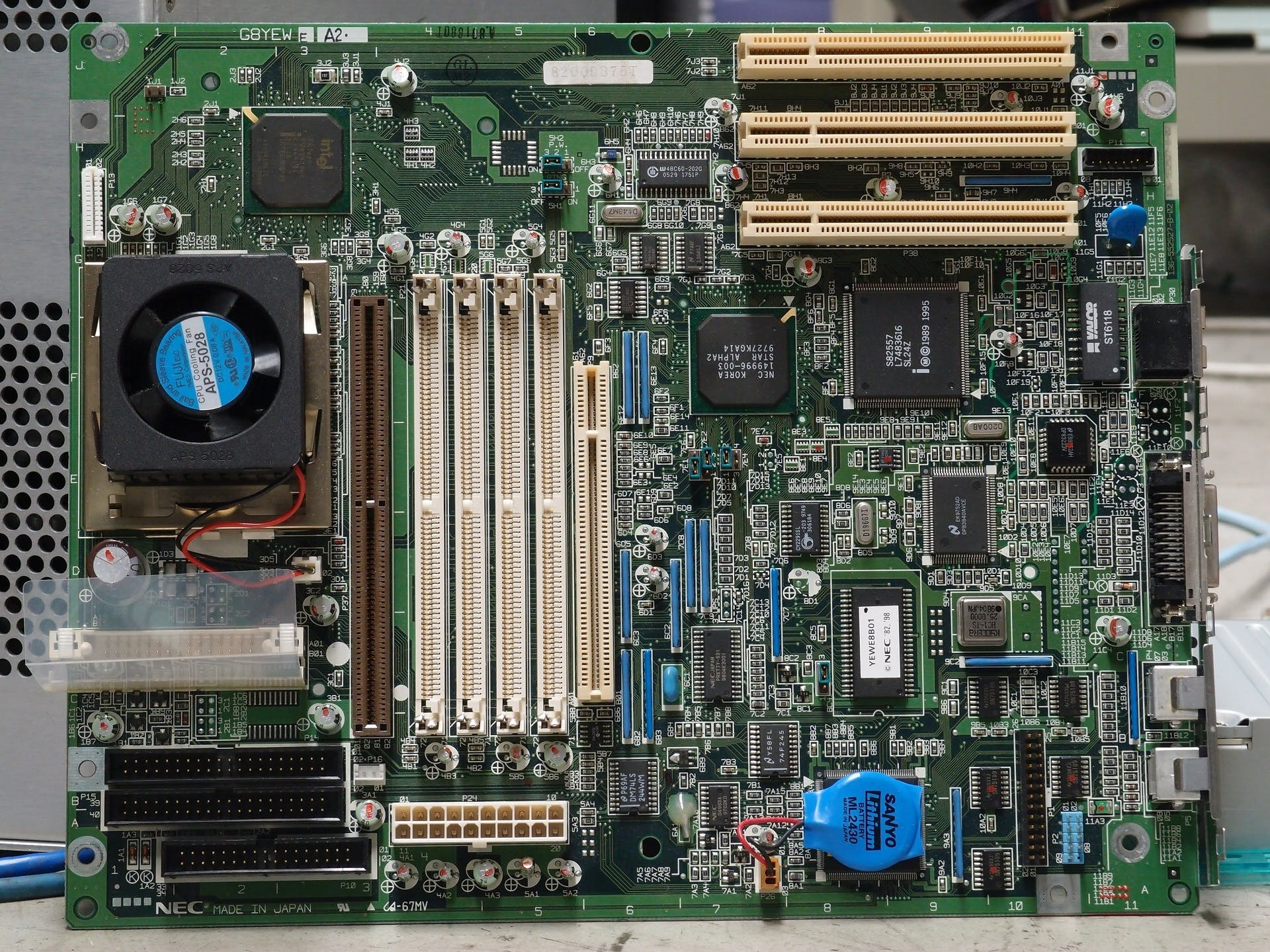 Green Motherboard