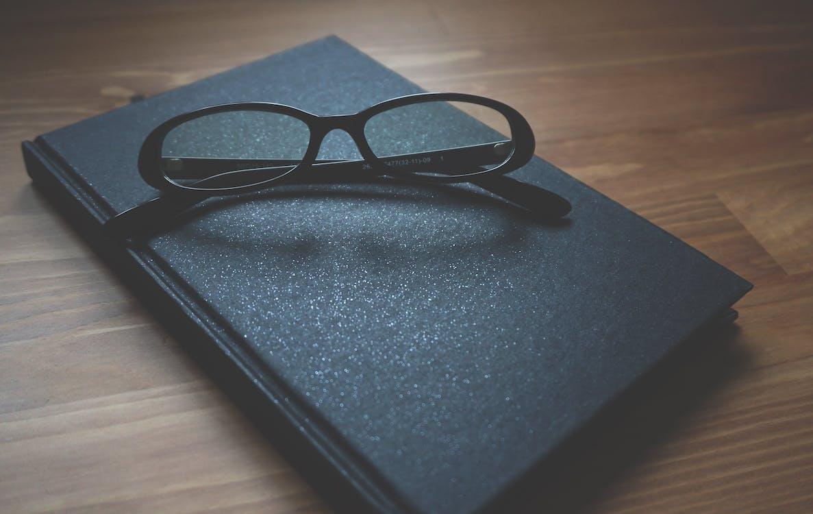 Schwarz Gerahmte Brille