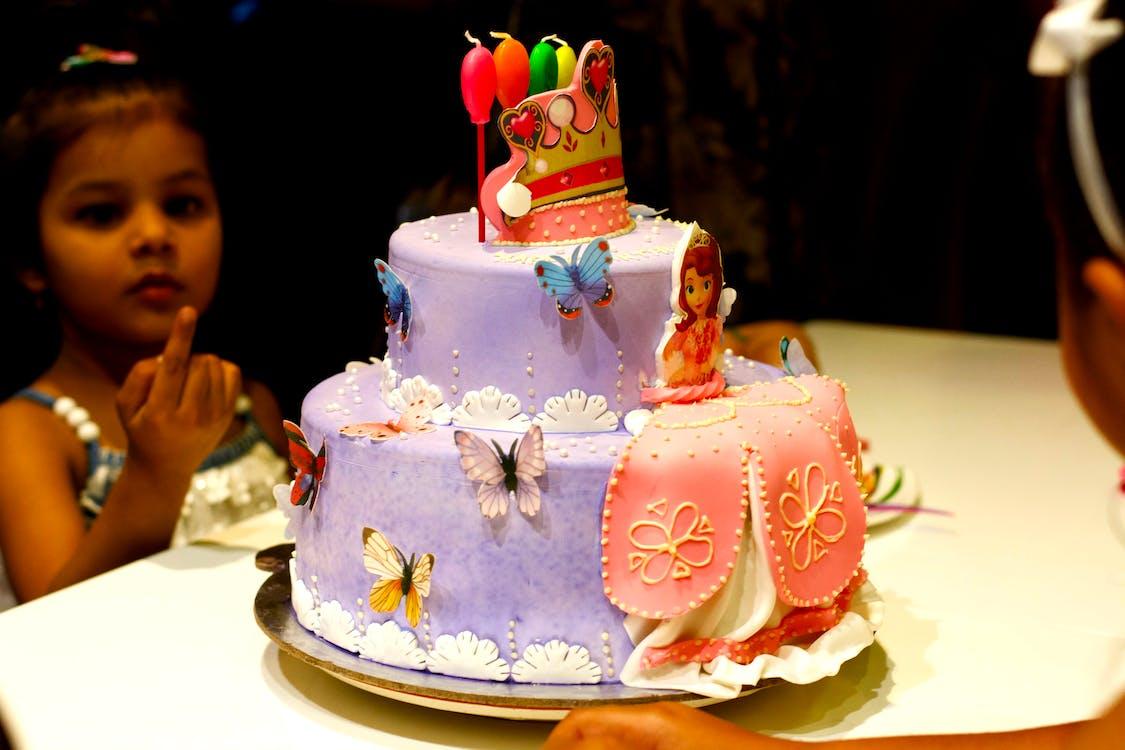 verjaardagscake, verjaardagstaart