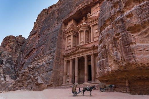 Go inside the Lost City in Jordan