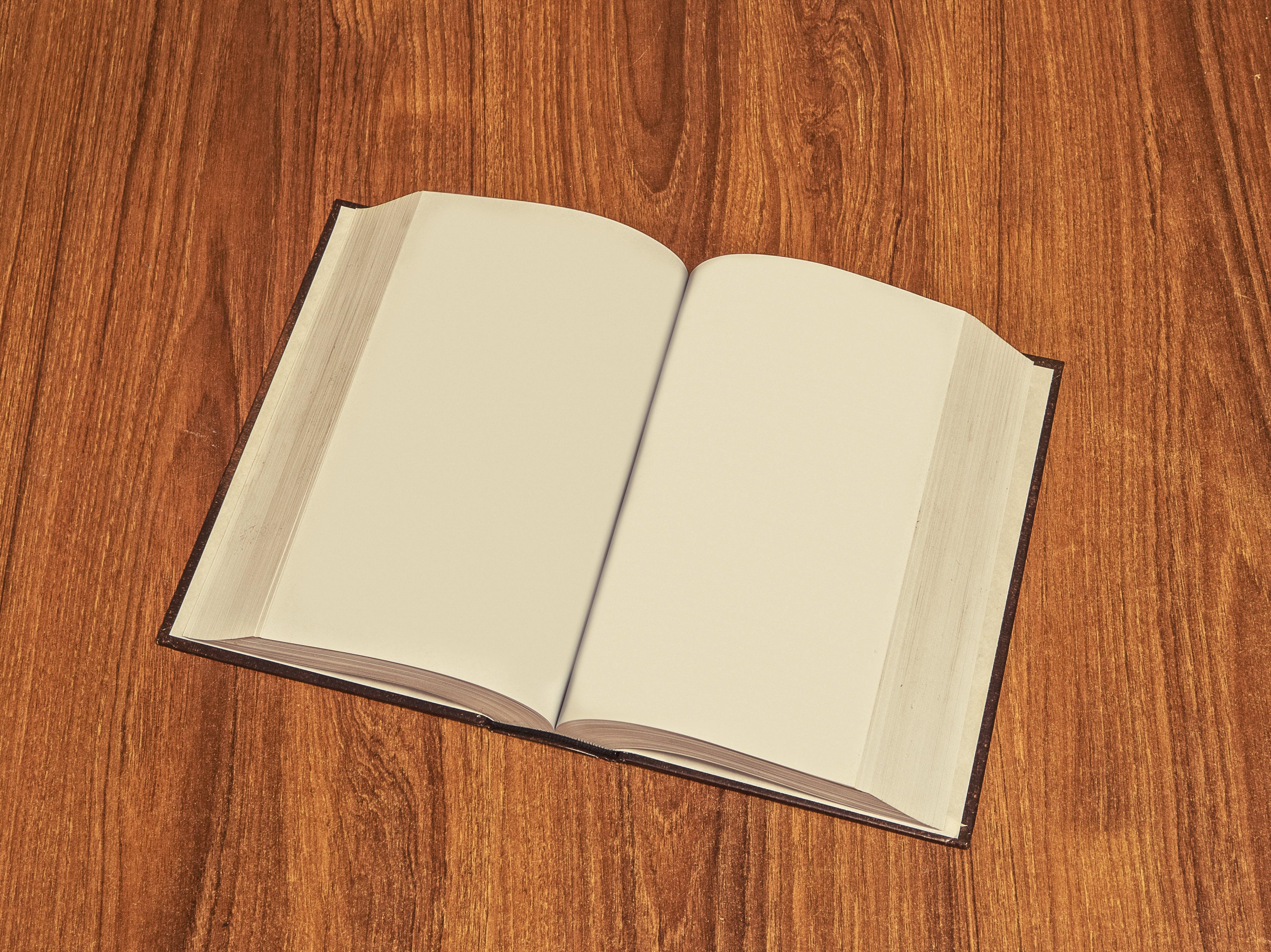 Plain Book Pages