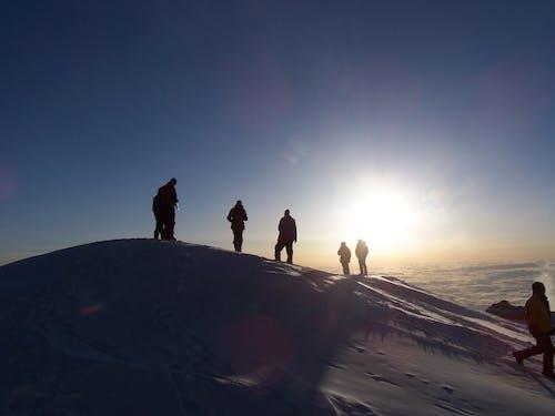 人, 冒險, 冷, 冷色調 的 免费素材照片