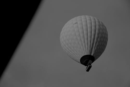 Free stock photo of 700D, b&w, baloon