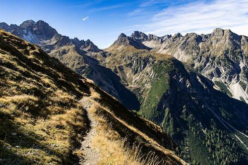 Photos gratuites de alpes, autriche, chemin, ciel