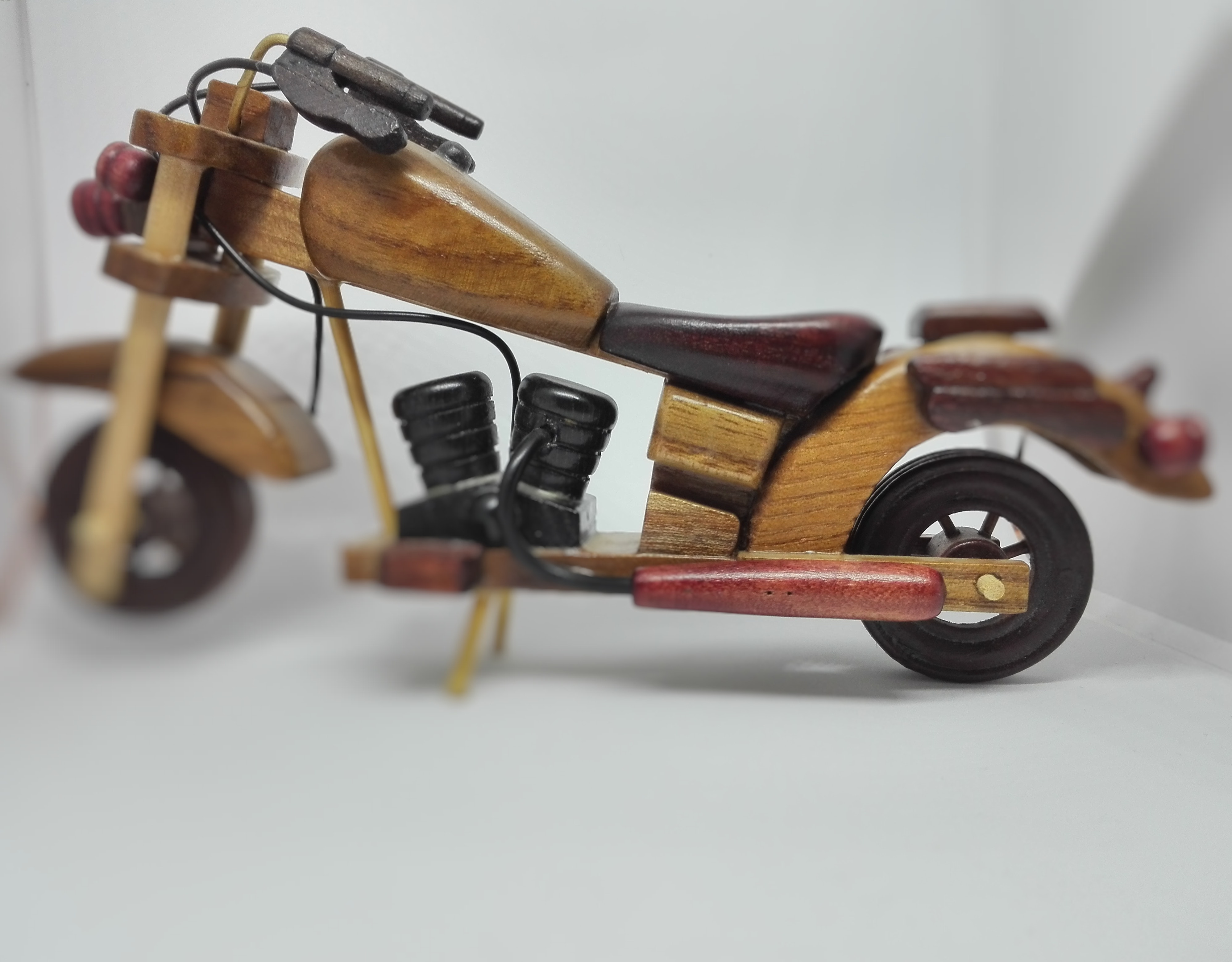 Free stock photo of wood chopper, wood motorcycle, wood toy