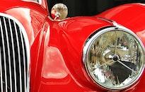 car, vehicle, reflection