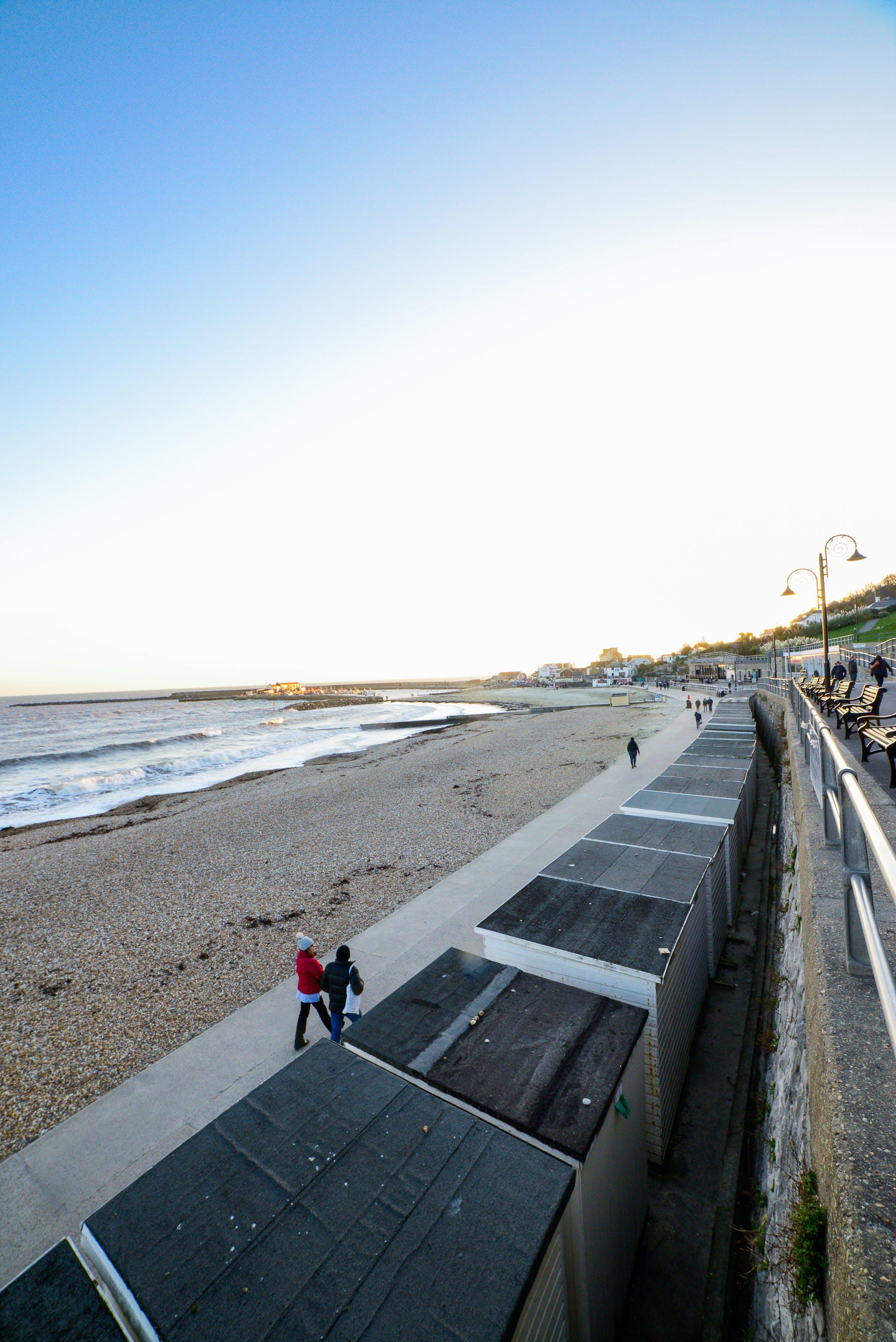 Free stock photo of coast, evening sky, seaside