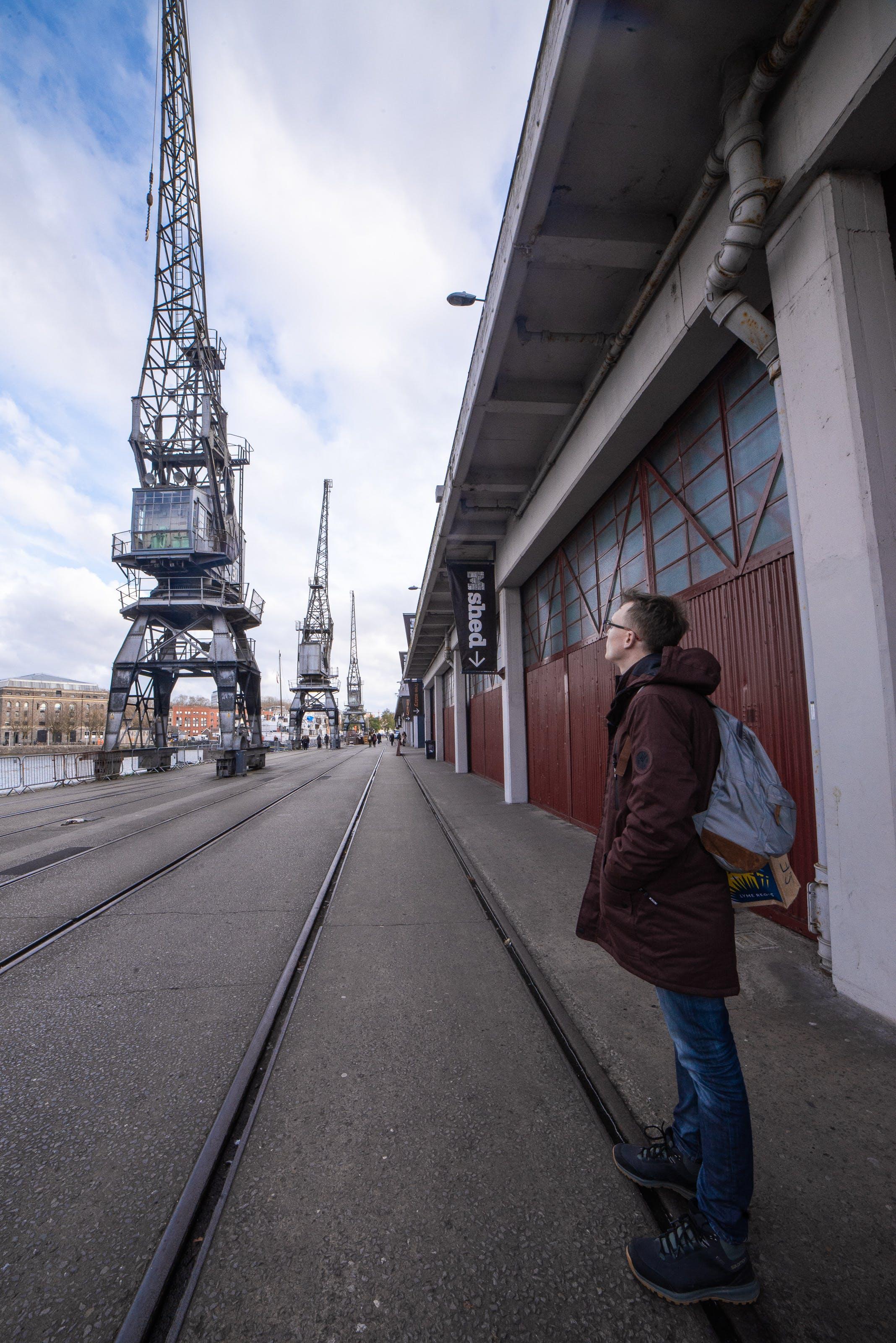 Free stock photo of crane, crane arm, height, industry