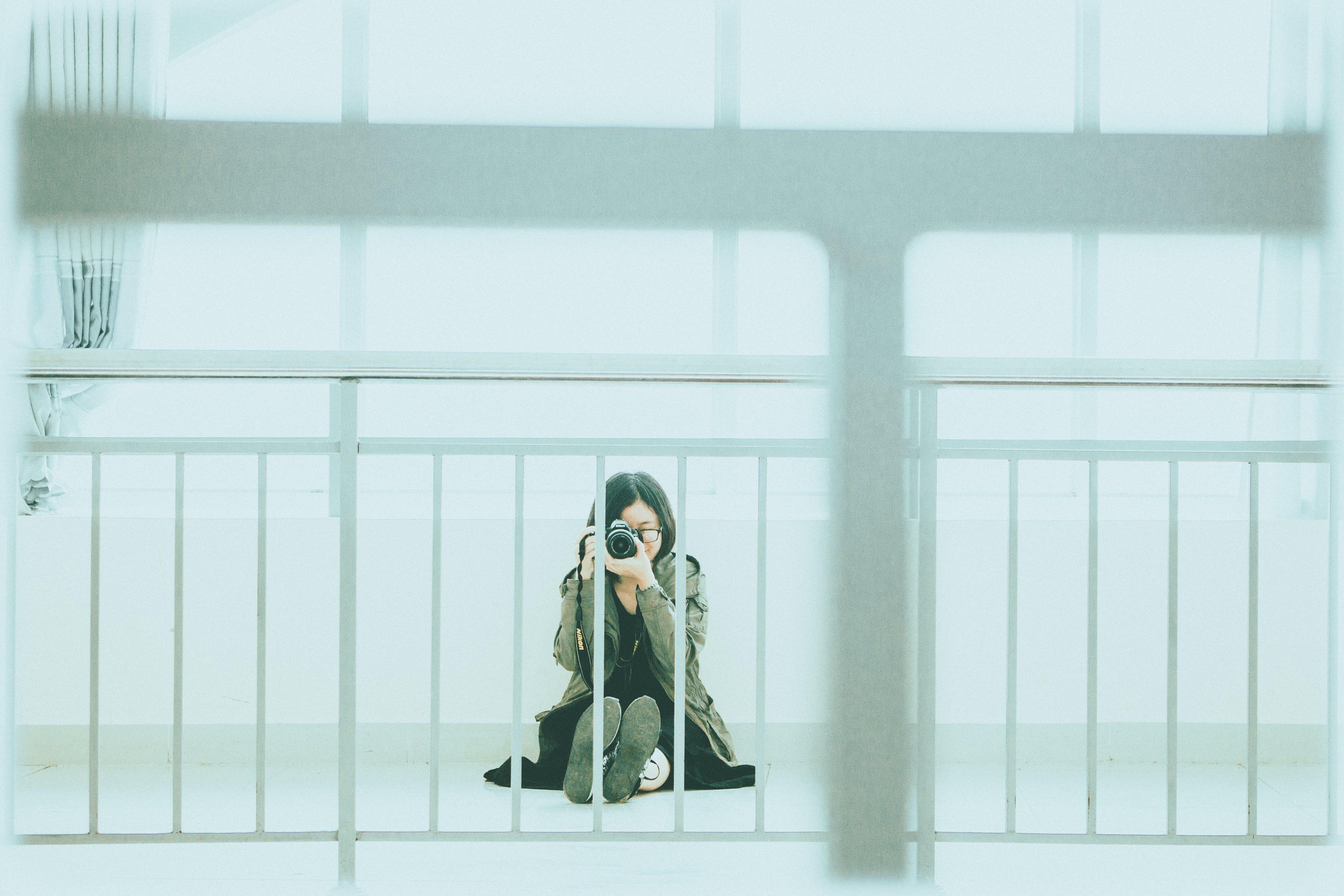 Woman Taking Photo