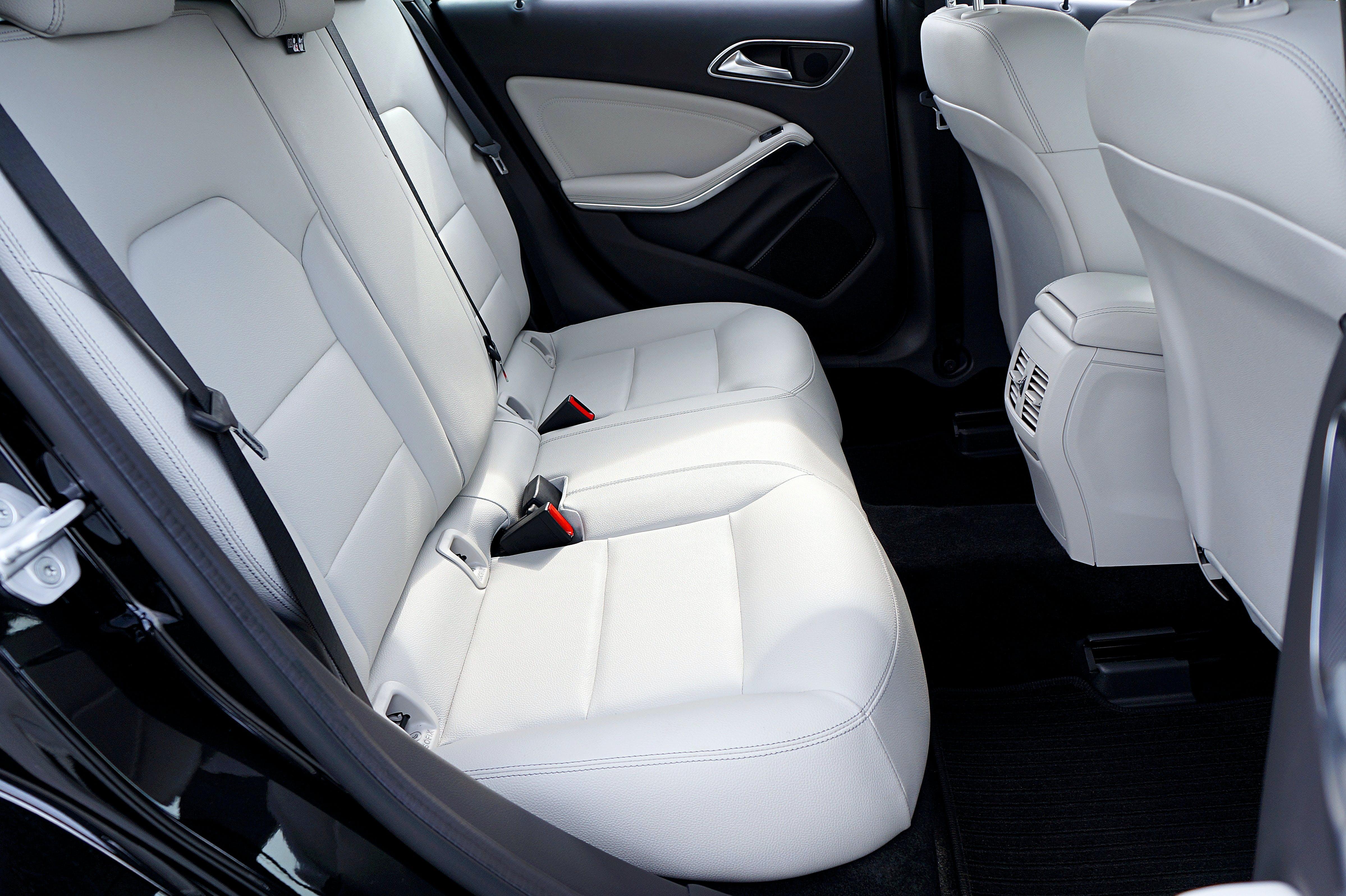 Empty Vehicle Seat