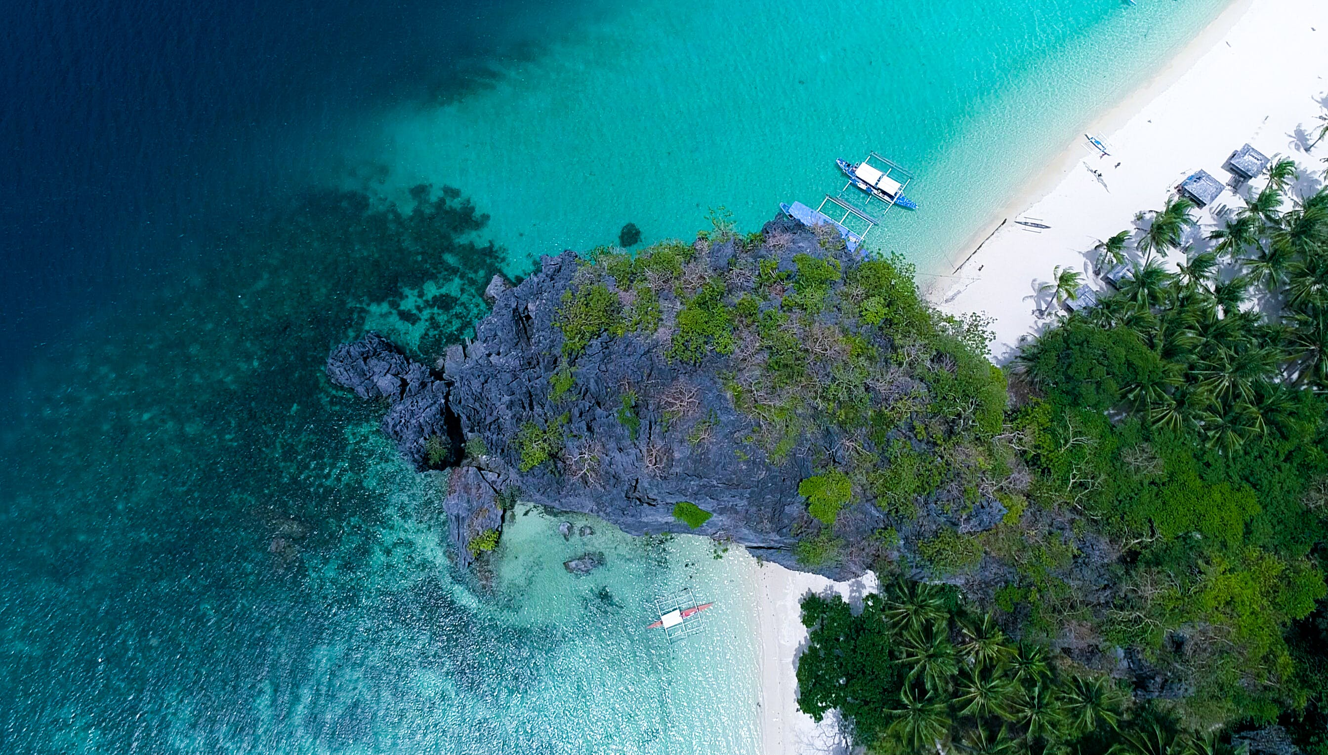 Aerial Photography Of Island