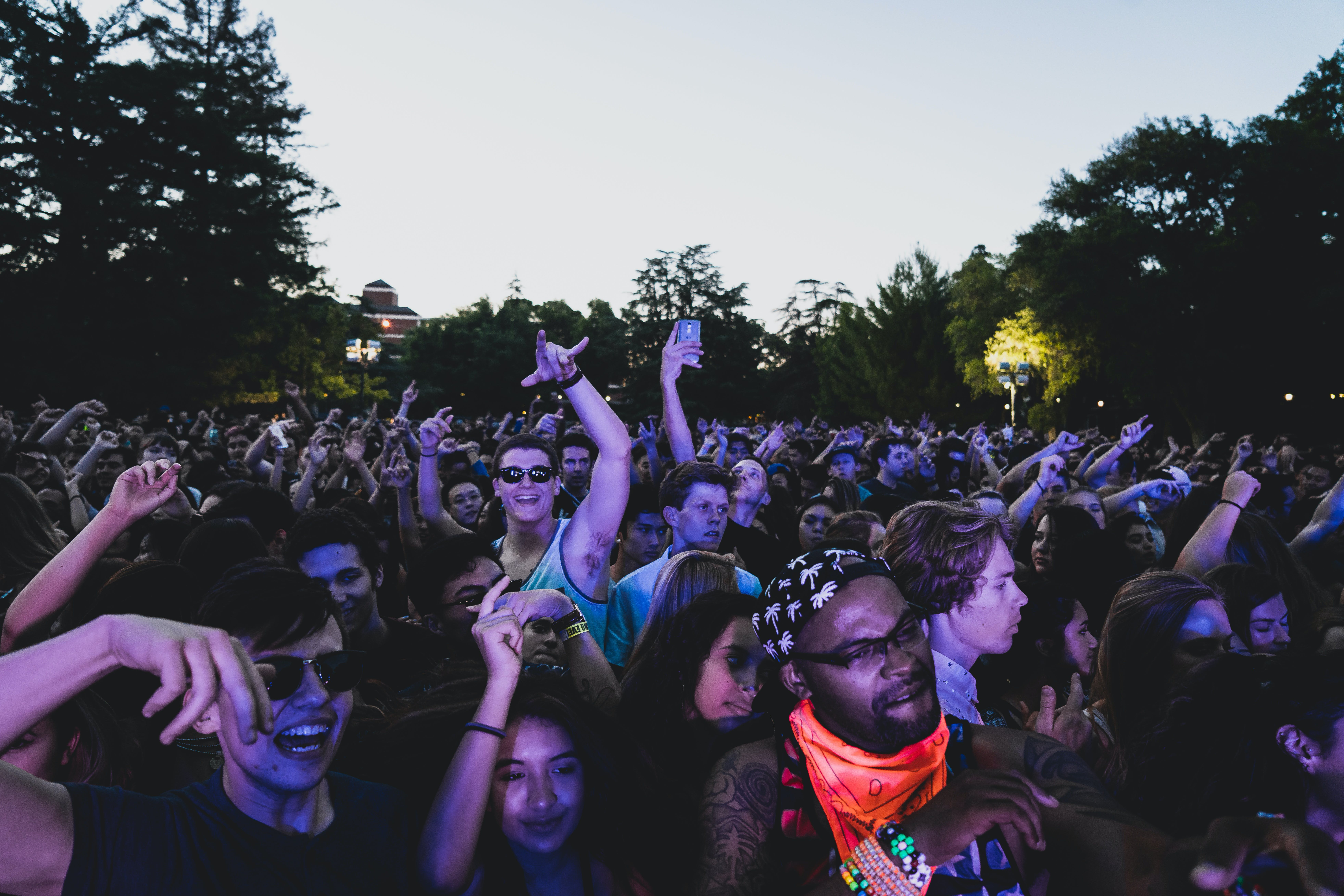 Free stock photo of concert, crowd, dance, fans