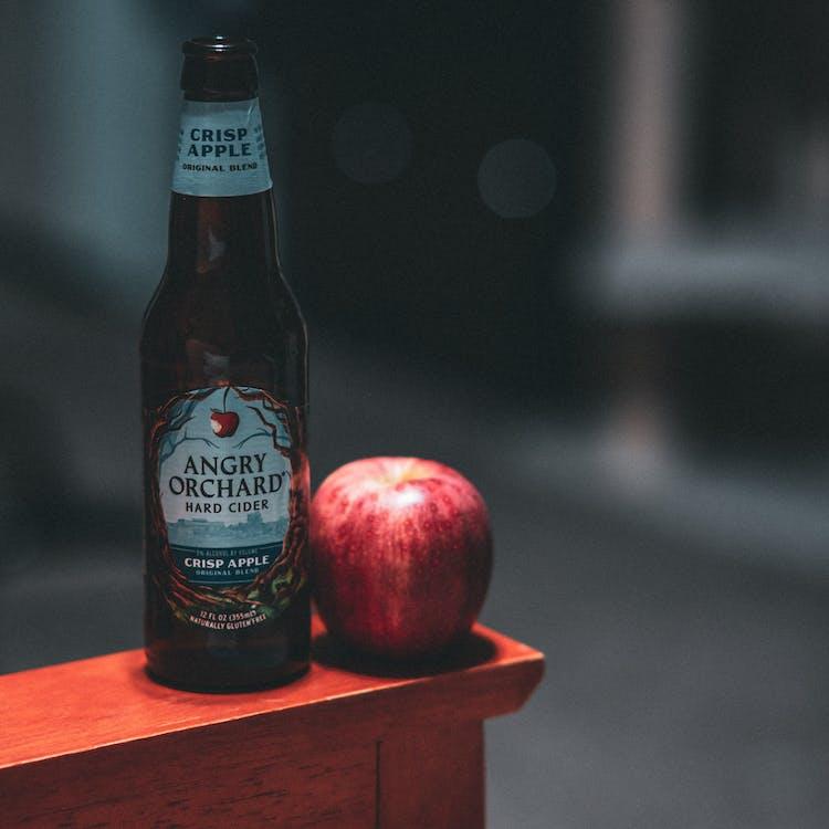 apfel, apple, drinnen