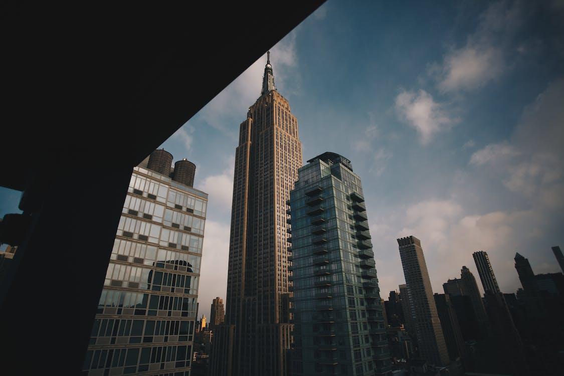 architektúra, budovy, centrum mesta
