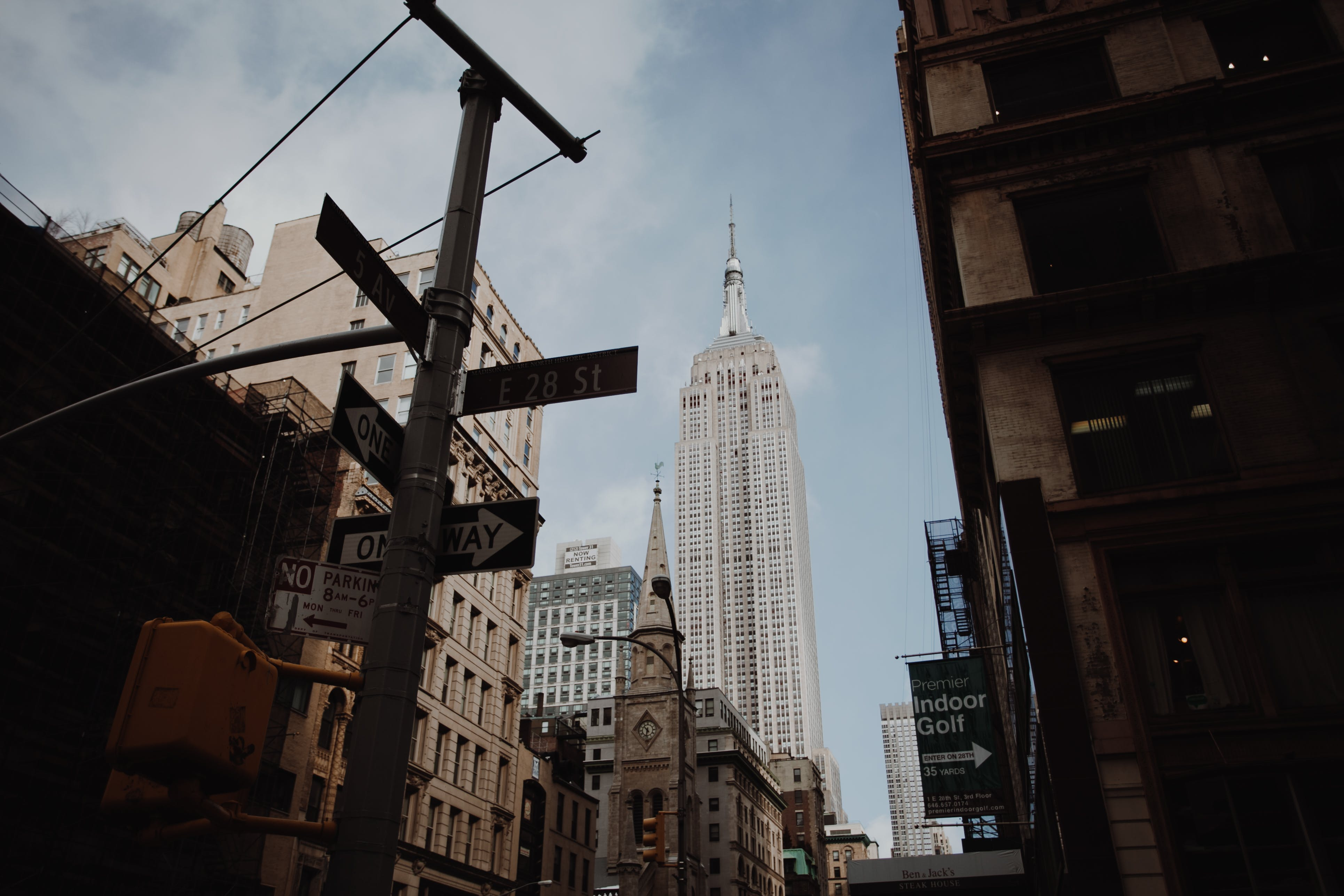 Kostnadsfri bild av arkitektur, byggnader, Empire State Building, gata