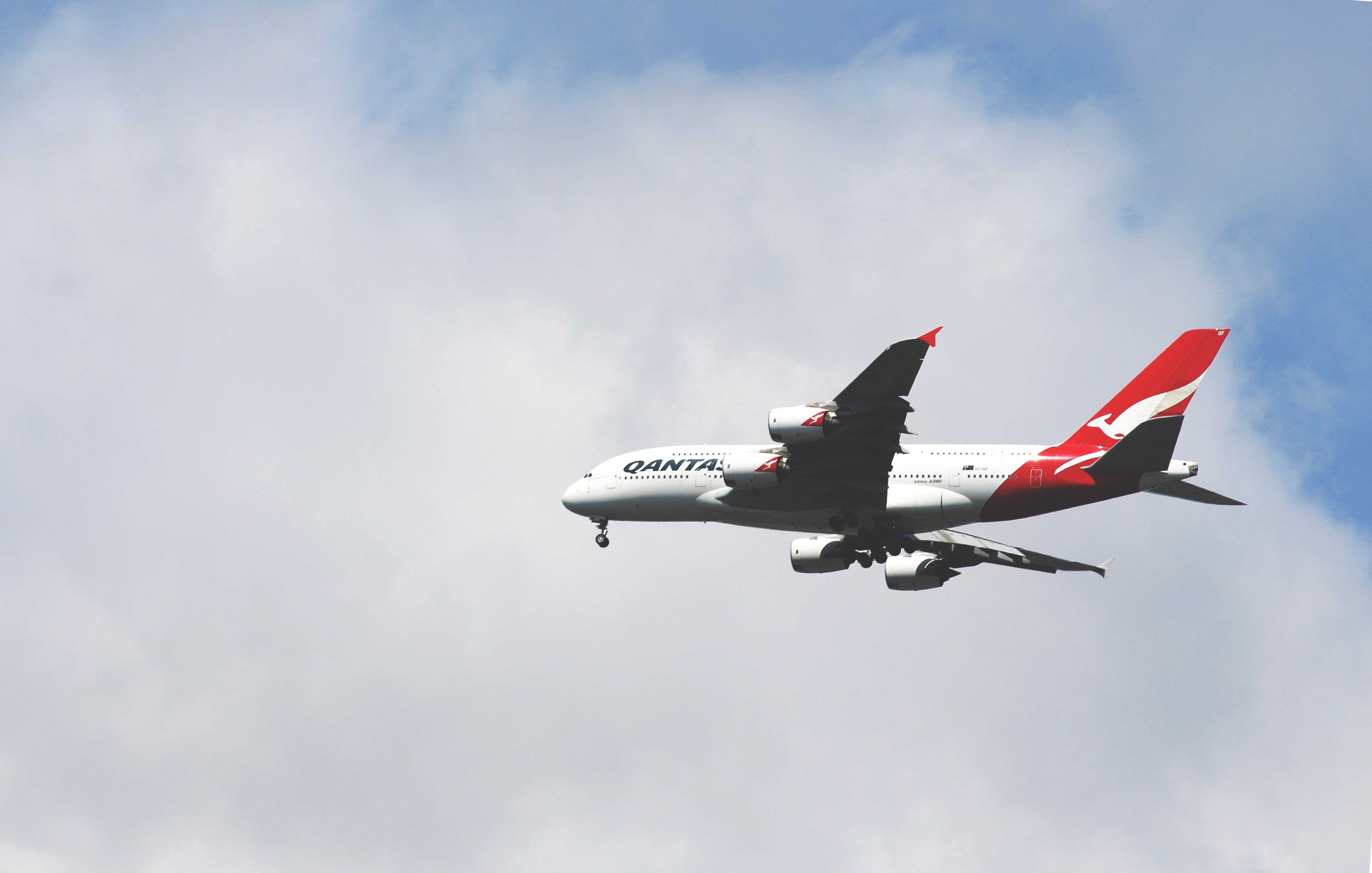 Foto stok gratis awan, jalan nafas, kapal terbang, langit