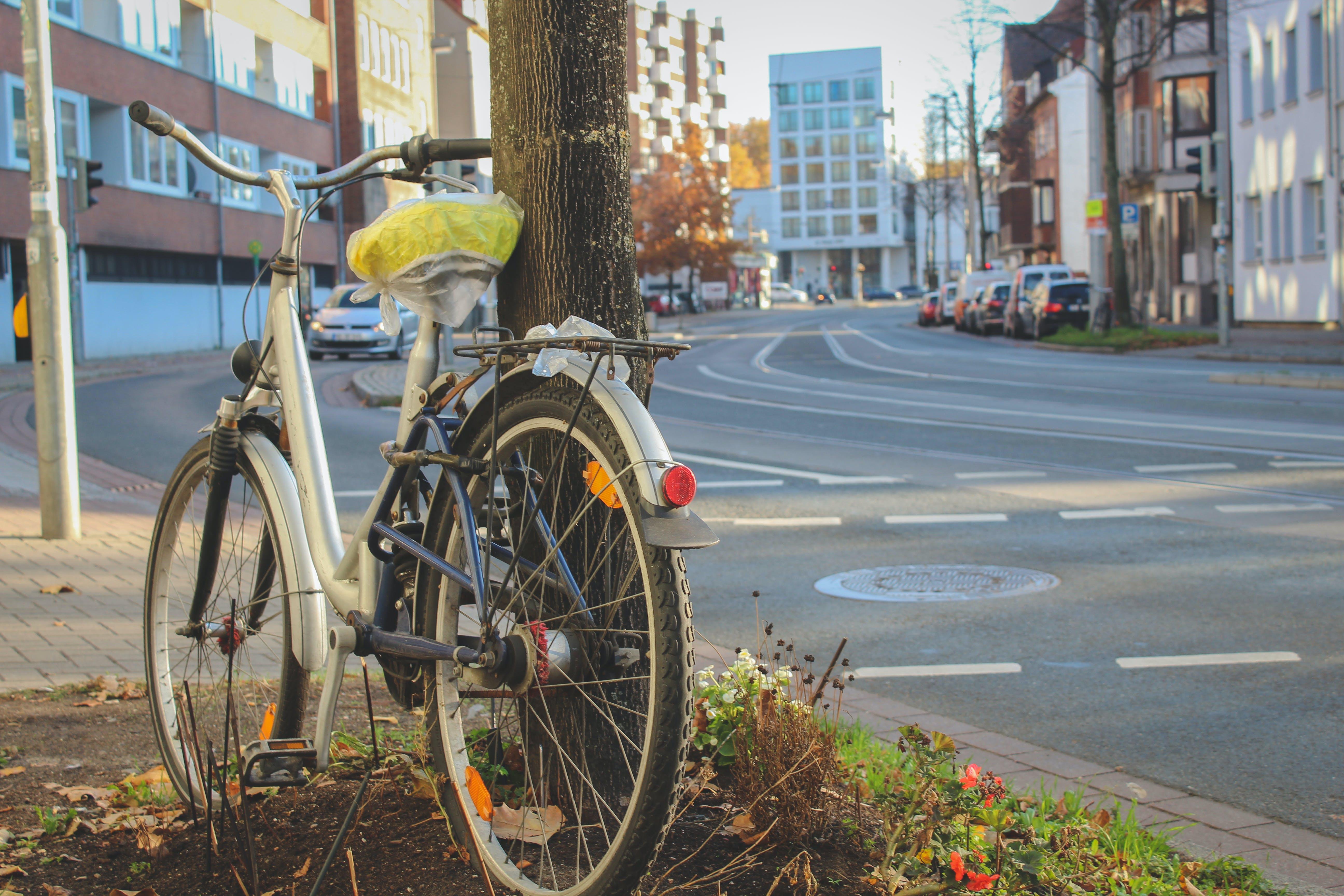Kostenloses Stock Foto zu asphaltstraße, fahrrad