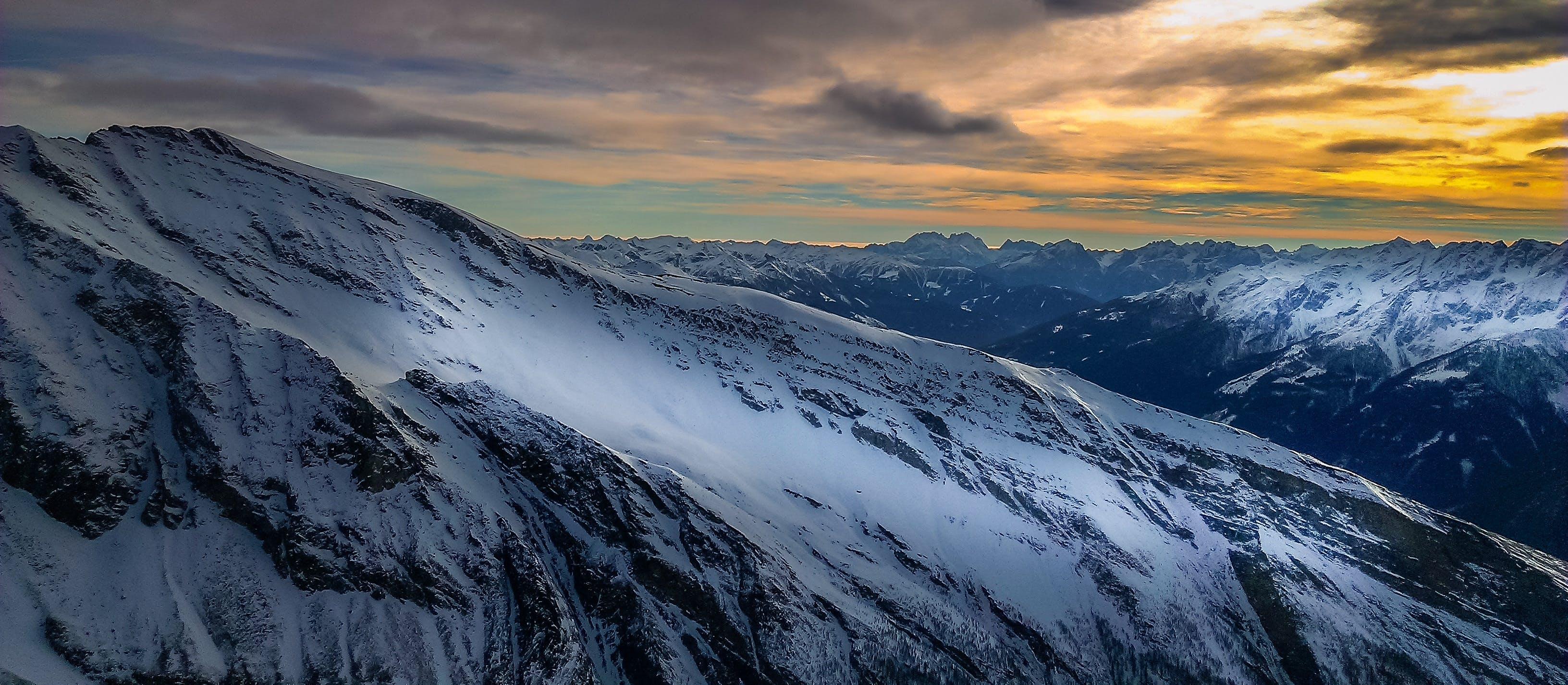 Kostenloses Stock Foto zu alpen, berg, berge, dämmerung
