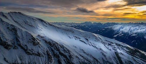 คลังภาพถ่ายฟรี ของ ตะวันลับฟ้า, ธารน้ำแข็ง, น้ำแข็ง, พระอาทิตย์ขึ้น