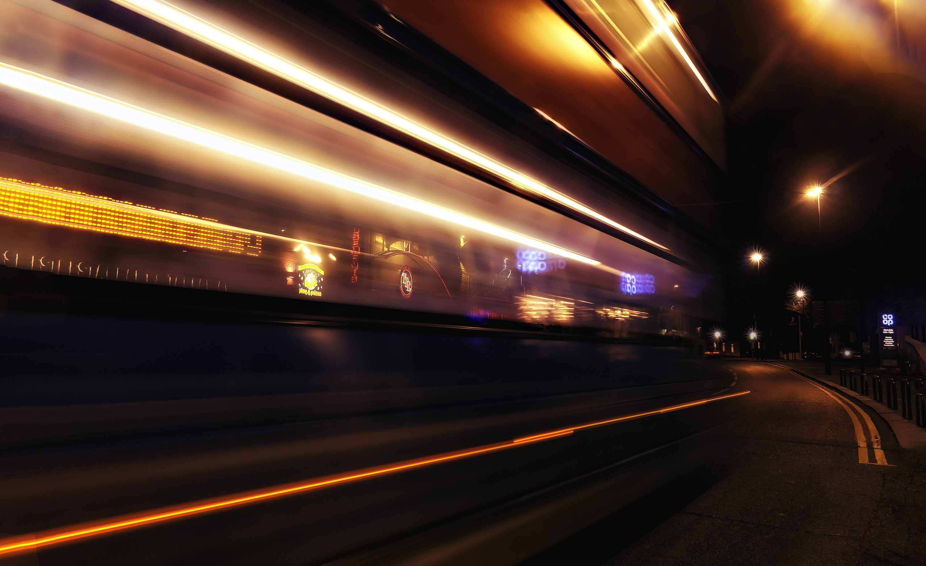 Time Lapsed Photography of Vehicles on Road