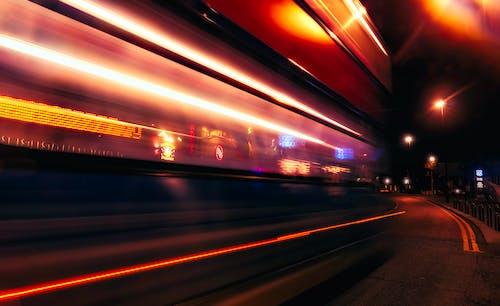Základová fotografie zdarma na téma architektura, dálnice, městský, noc