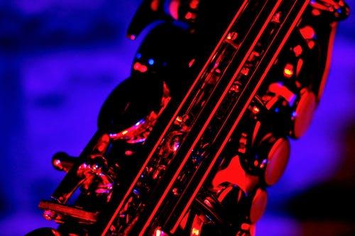คลังภาพถ่ายฟรี ของ วอลล์เปเปอร์, สีน้ำเงิน, สีแดง, แซ็กโซโฟน