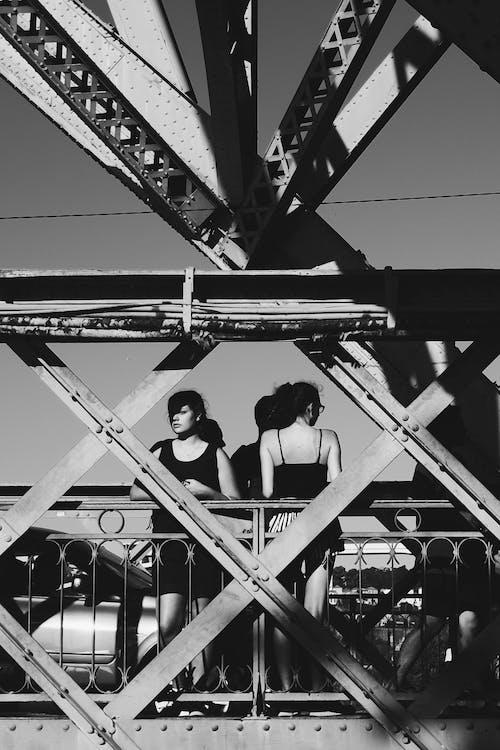 交通系統, 日光, 橋, 熨斗 的 免费素材照片