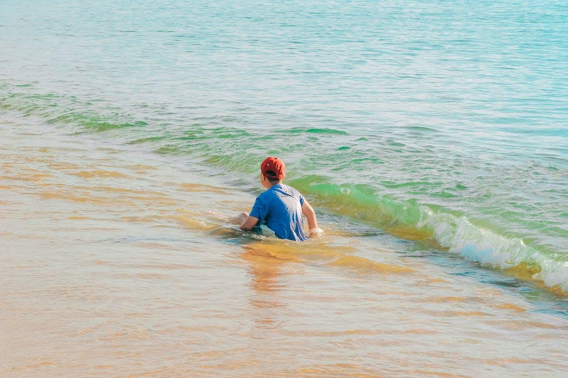 активный отдых, берег, веселье