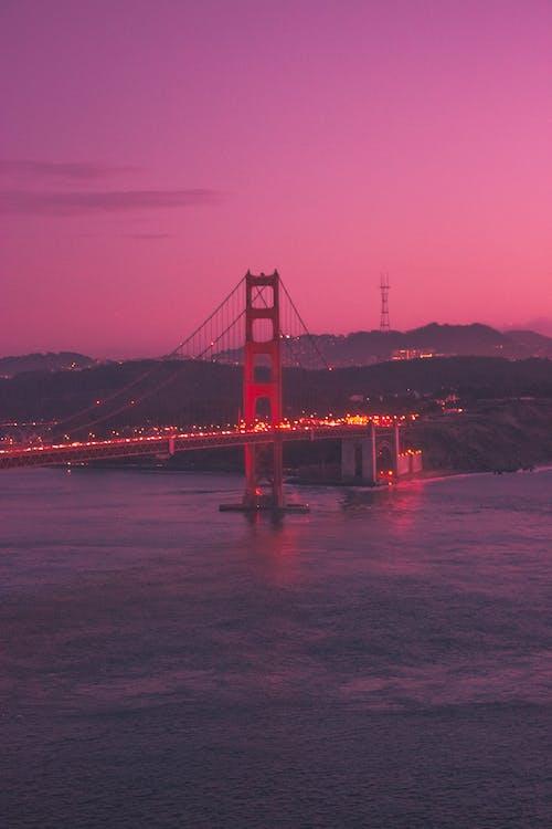 天性, 晚間, 景觀, 橋 的 免費圖庫相片