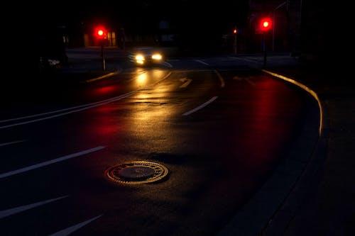 Základová fotografie zdarma na téma akce, asfalt, auto, časosběr