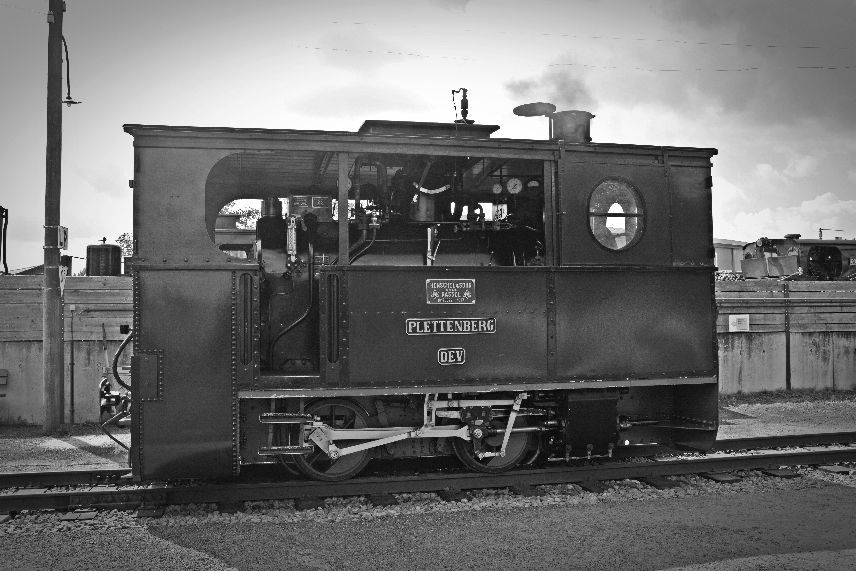 Train On Railroad Track 183 Free Stock Photo