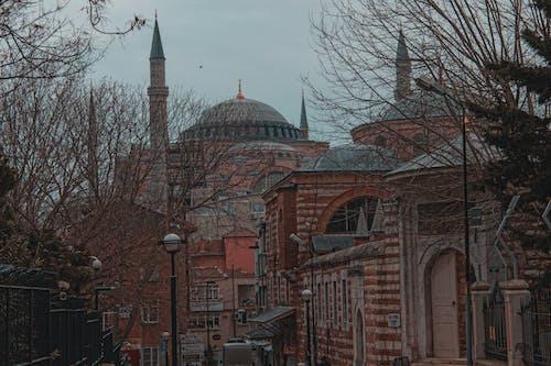 cityphoto, アヤソフィア, イスタンブール, オレンジの無料の写真素材