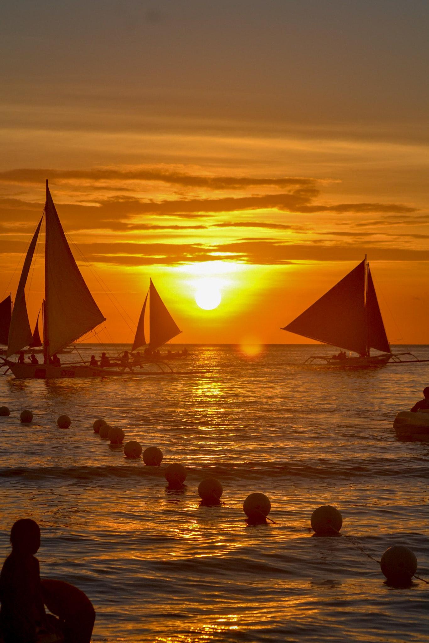 Free Stock Photo Of Boat Boracay Iphone Wallpaper