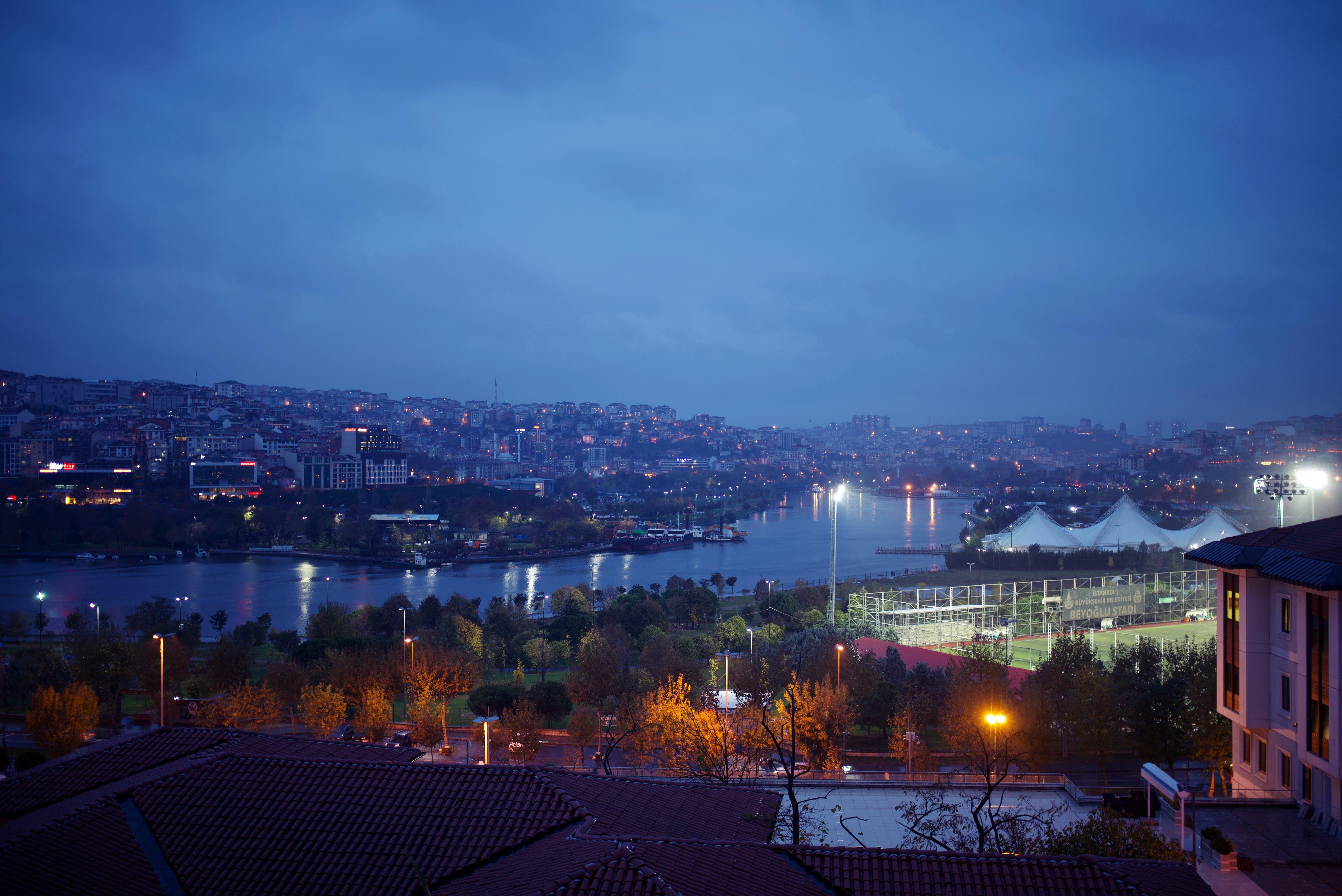 Free stock photo of citylights, lights