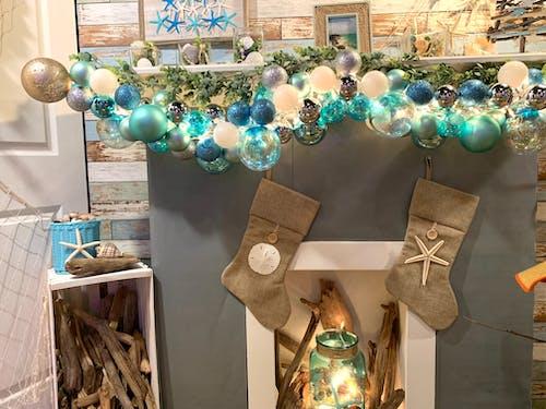 Kostenloses Stock Foto zu mantel, strand, strand weihnachten, weihnachten