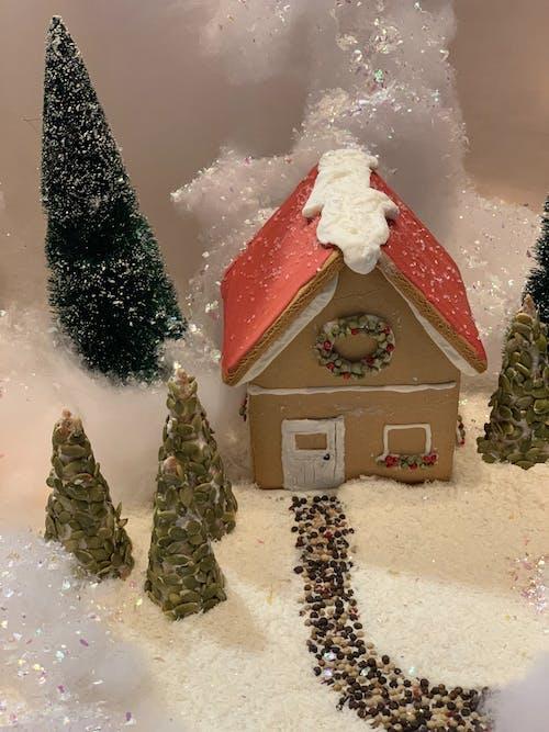 Kostenloses Stock Foto zu lebkuchen, lebkuchenhaus, weihnachten